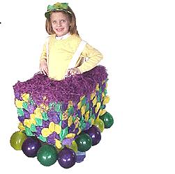 Mardi gras mini float fun family crafts