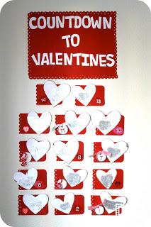 Scratch-off Valentine Countdown