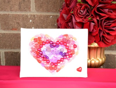 Valentine Bead Canvas