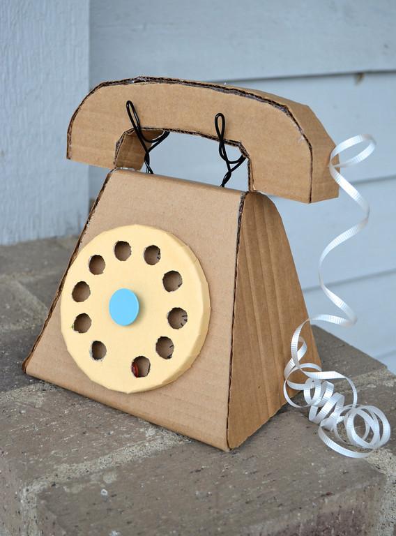 Cardboard Telephone