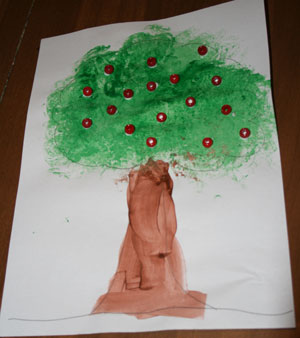 Cherry Tree Craft Fun Family Crafts