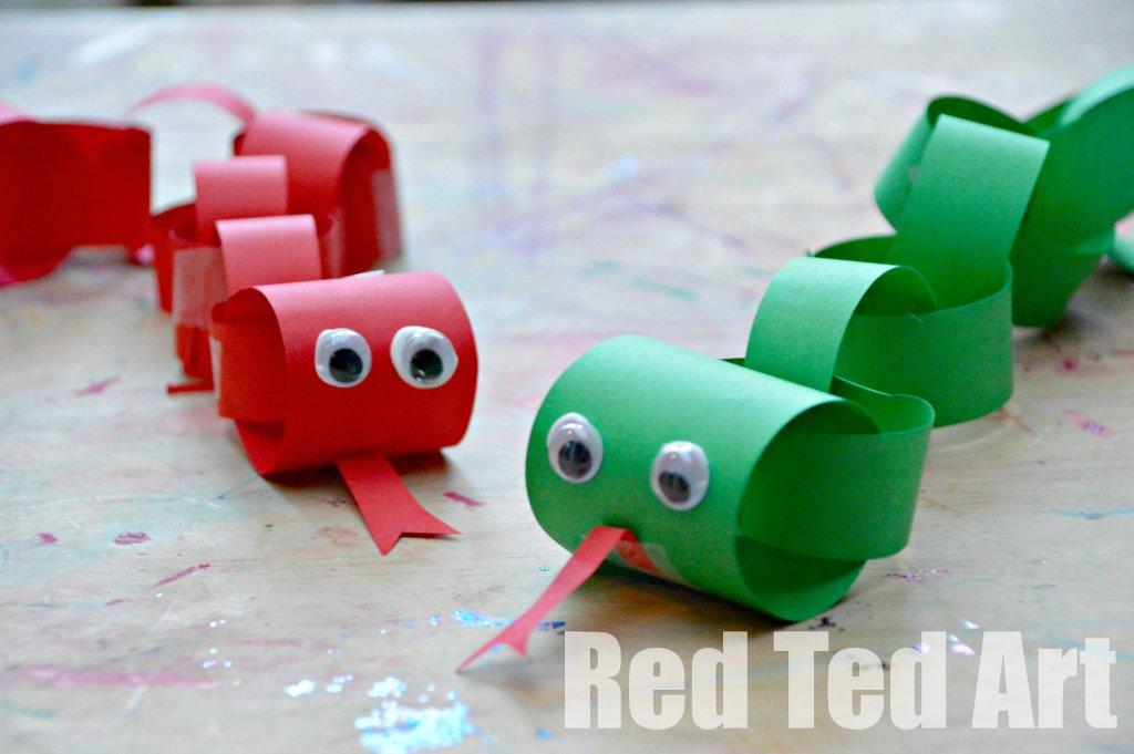 Paper Snake | Fun Family Crafts