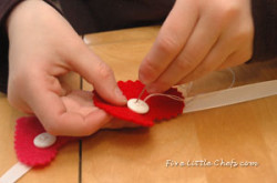 Teach Kids to Sew a Button
