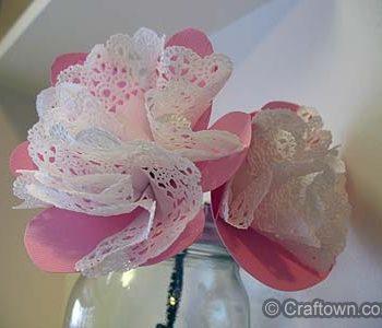 Doily Flower