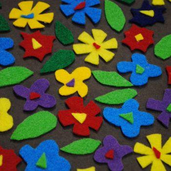 Fun Felt Flower Art