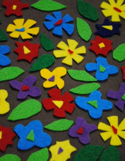 Fun Felt Flower Art