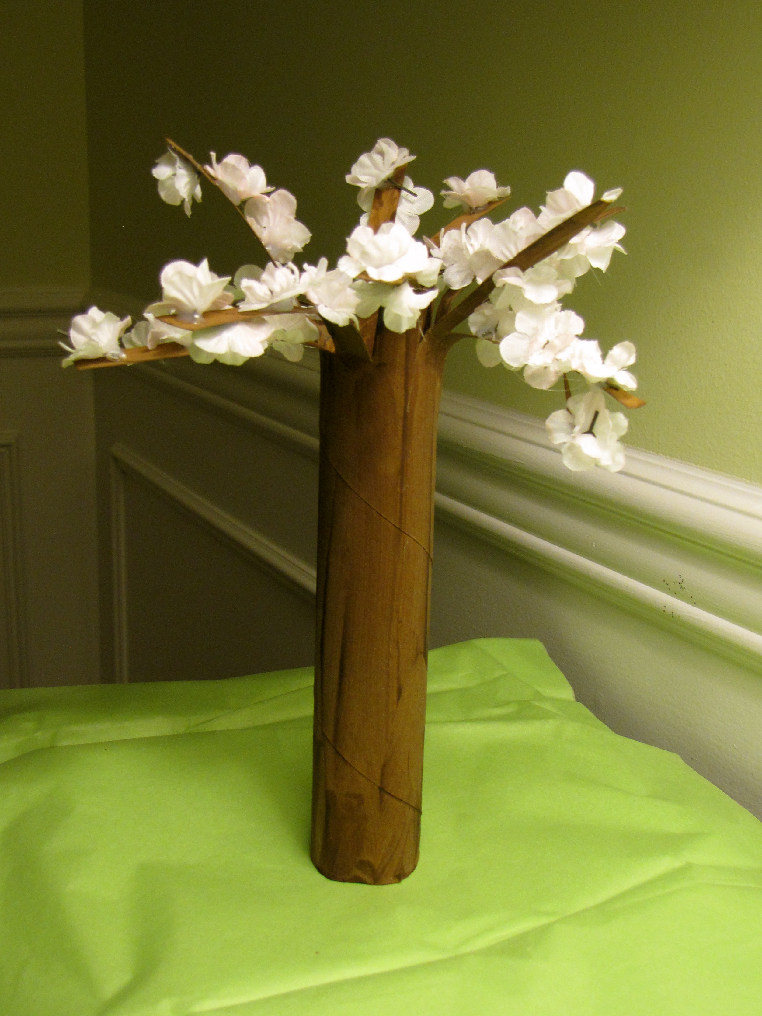 Flowering Cherry Tree Fun Family Crafts