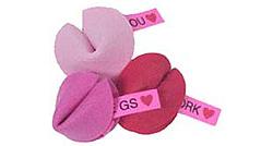 Valentine Fortune Cookie Pins