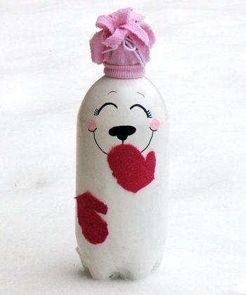 Soda Bottle Polar Bear