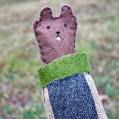 Groundhog Pop Up Puppet