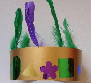 Mardi Gras Crown