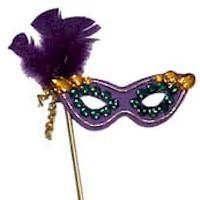 Mardi Gras Mask Craft