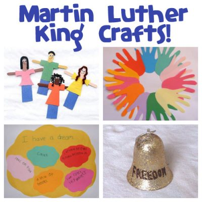 Martin Luther King Day crafts