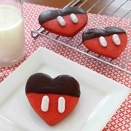 Mickey Chocolate Dipped Valentine