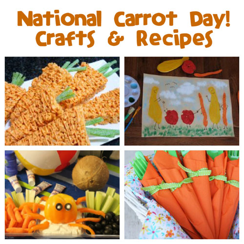 National Carrot Day is February 3rd!