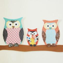 Paper Owl Family