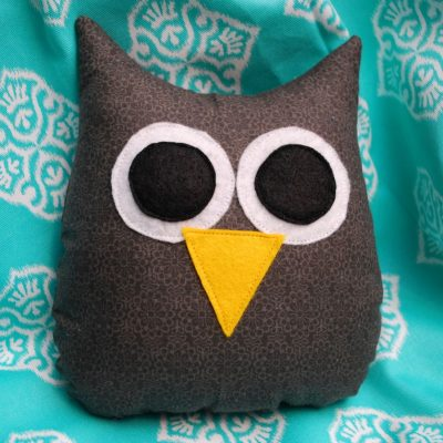 Owl Plushie Fun Family Crafts