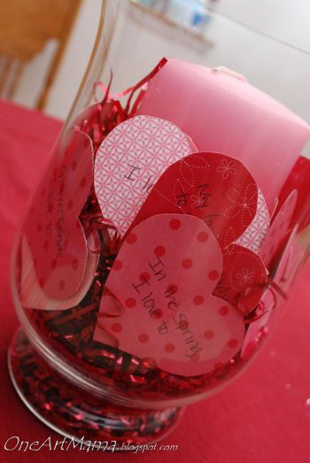 Heart Centerpiece