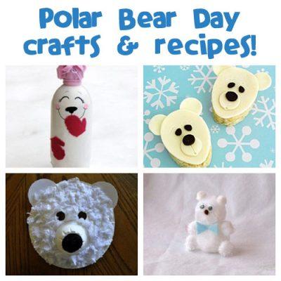 polar bear crafts for kids fun family crafts