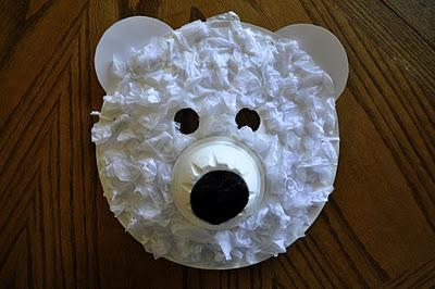 Polar Bear Mask & Polar Bear Mask | Fun Family Crafts