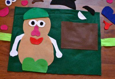 Mr Potato Head Felt Play Mat Fun Family Crafts