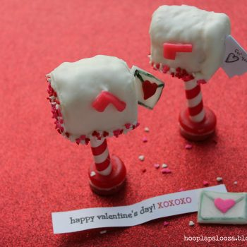 Rice Krispies Valentine Love Letter Mailboxes
