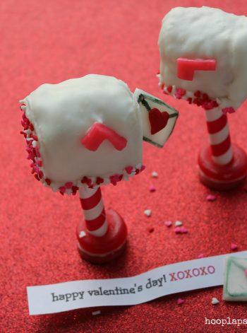 Rice Krispies Valentine Love Letter Mailboxes