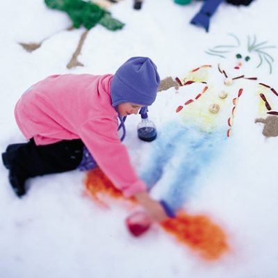 Painted Snow Mosaic