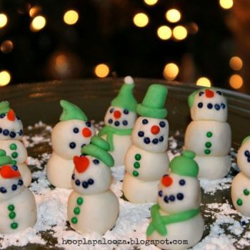 Mint Meltaway Snowmen