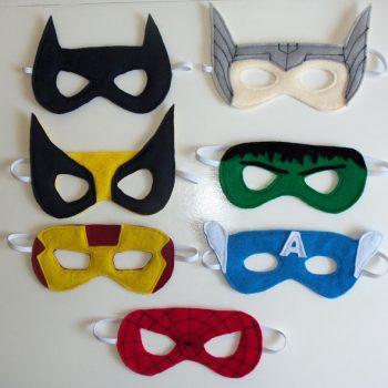 Superhero Party Masks