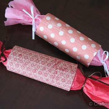 Valentine Party Favor Tubes