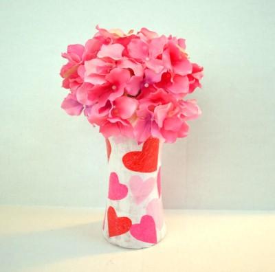 Valentine Heart Vase