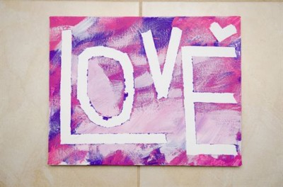 Toddler Canvas Painting Fun Family Crafts
