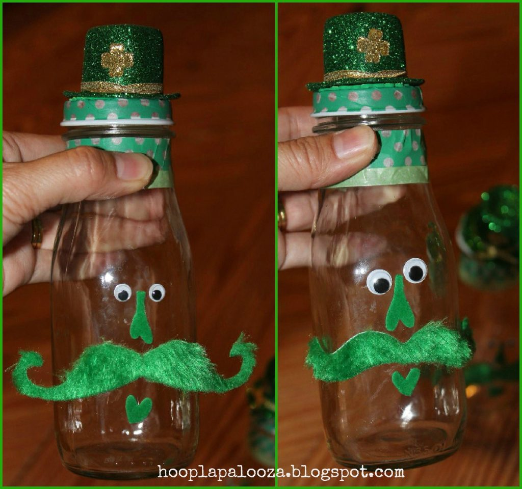 Silly Leprechaun Bottles