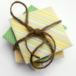 Easy Mod Podge Coasters