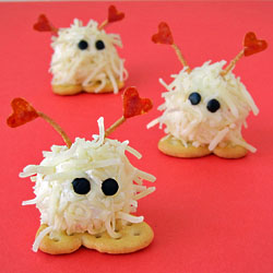 Mini Cheese Ball Warm Fuzzies