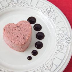 Frozen Mousse Hearts