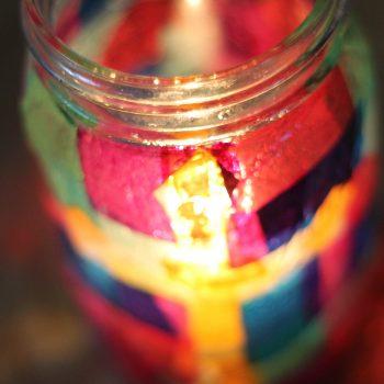 Lenten Vigil Candle Holder
