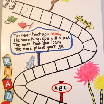 Dr. Seuss Reading Chart