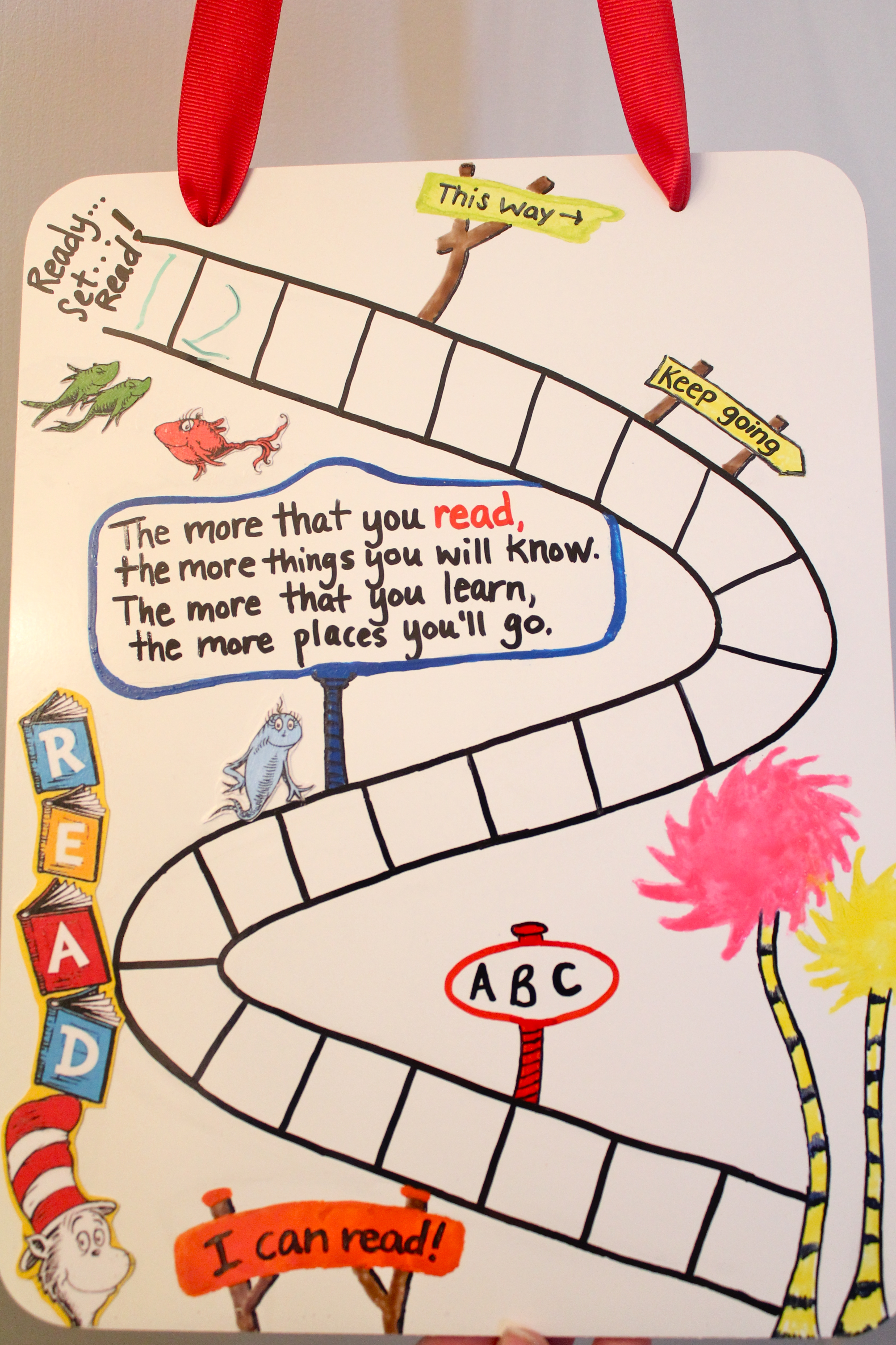 Dr  Seuss Reading Chart | Fun Family Crafts