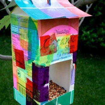 Recycled Bird Feeder