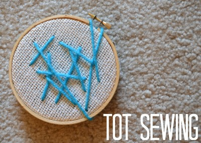 Tot Sewing