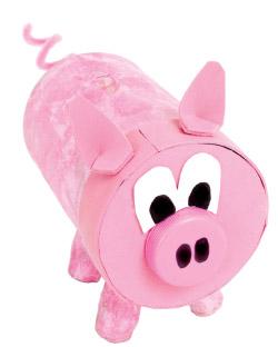 Peanut Butter Piggy Bank