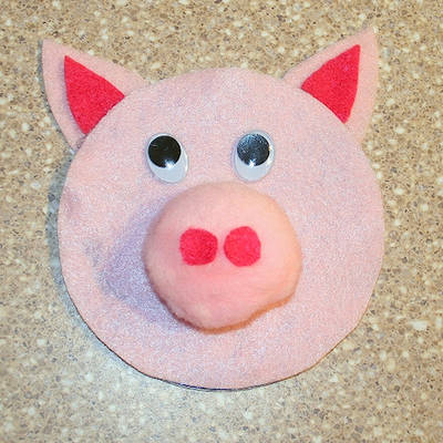 Cd Pig Craft Fun Family Crafts