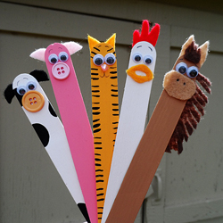 Craft Stick Farm Animals