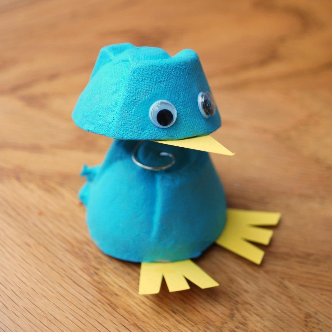 Egg Carton Chicks | Fun Family Crafts