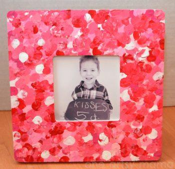 Valentine Fingerprint Frame