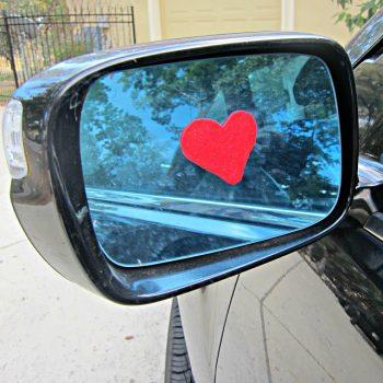 Window Cling Hearts
