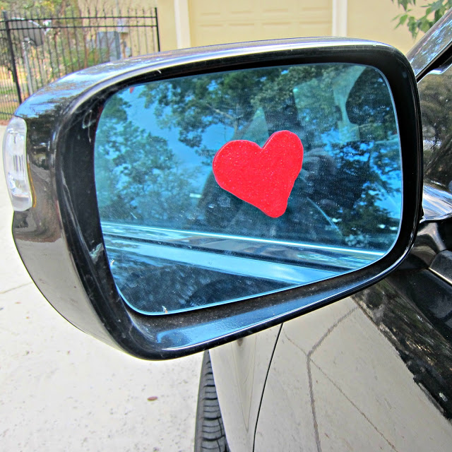 Window Cling Hearts