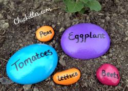 Stone Garden Markers
